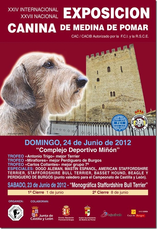Cartel Canina 2012