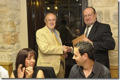 cena de honor Antonio Montes
