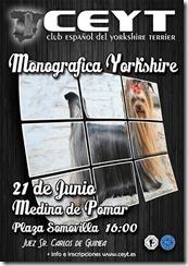 cartel monografica yorkys Medina 2014